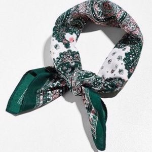 Urban Outfitters Silk Bandana Scarf NEW